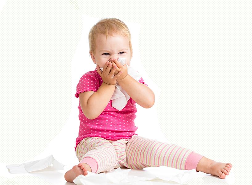 Allergia babáknál, gyerekeknél: 6 gyakori ok, ami miatt kialakulhat
