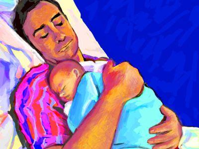 Aranyosi Ervin: Apának is születni kell (Vers)