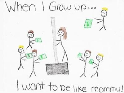 Olyan akarok lenni, mint az anyukám! - Elég kínos képet rajzolt a kislány az édesanyjáról
