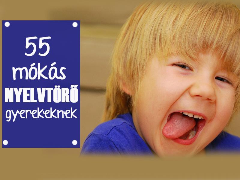 55 nyelvtörő gyerekeknek - Fejlesztik a beszédkészséget és a szép kiejtést