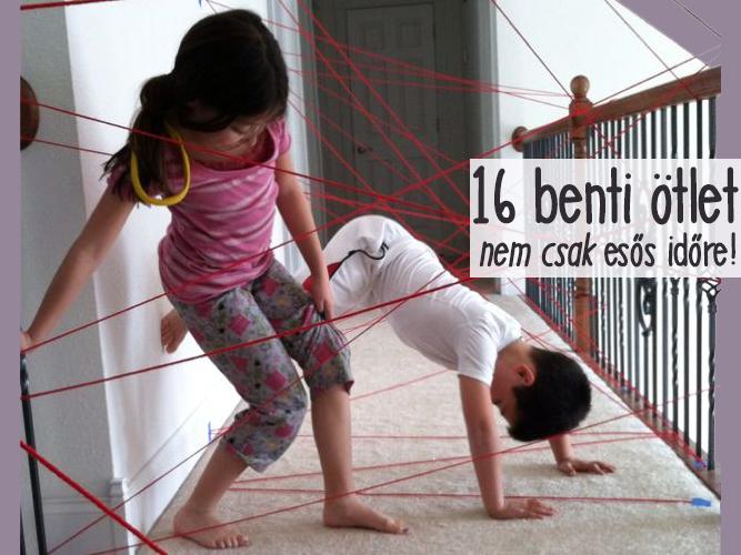 Esős időre benti játékok, kreatívkodás hétköznapi tárgyakból - 16 szuper ötlet, hogy ne unatkozzon a gyerek