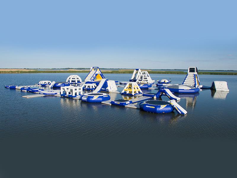 Különleges vízi játszótér épült a Tisza-tavon - Ide mindenképpen vidd el a gyereket idén nyáron, imádni fogja!