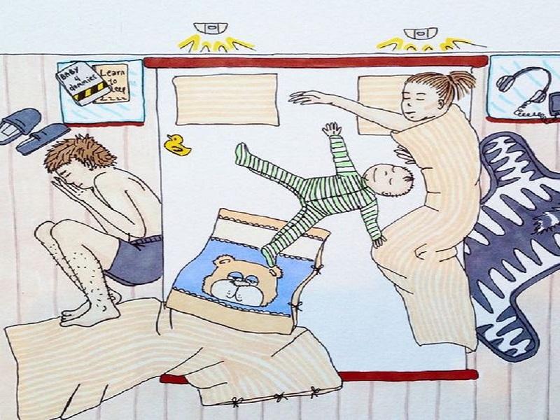 Ilyen az élet egy kisgyerekkel - 11 rajz, amit akkor értesz meg igazán, ha te is szülő vagy