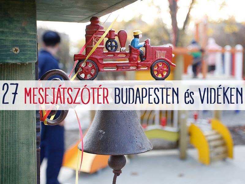 Fotók: Ilyen lett a tűzoltós játszótér Budapesten! - Plusz 26 mesejátszótér és különleges játszótér a fővárosban és vidéken