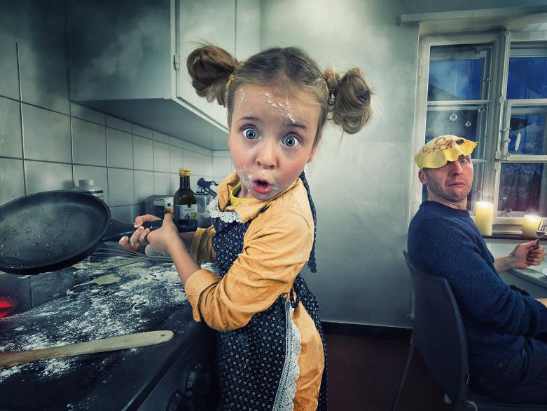 Elképesztő fotókon örökíti meg családját ez a négygyermekes apuka - Ilyen képeket nem mindennap látsz!