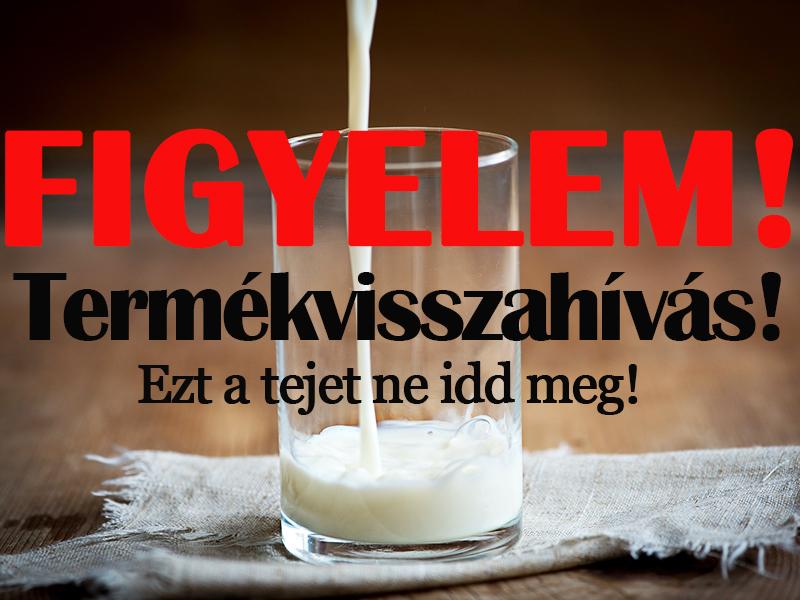 Figyelem! Ezt a tejet ne idd meg és a gyereknek se add! - Hivatalos közleményt adott ki a népszerű áruházlánc
