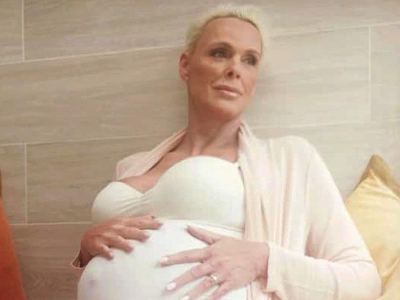 54 évesen ismét anya lett Brigitte Nielsen! - Már a nevét is elárulták az újszülött kislánynak