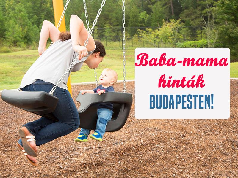 Baba-mama hinták Budapesten! 11 játszótéri baba-mama hinta, ahol biztonságosan hintázhatsz együtt a gyermekeddel