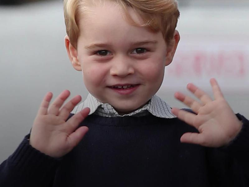 5 éves lett György herceg! Ezt a cuki képet osztotta meg róla a Palota - Plusz még több fotó a szülinapos kis hercegről