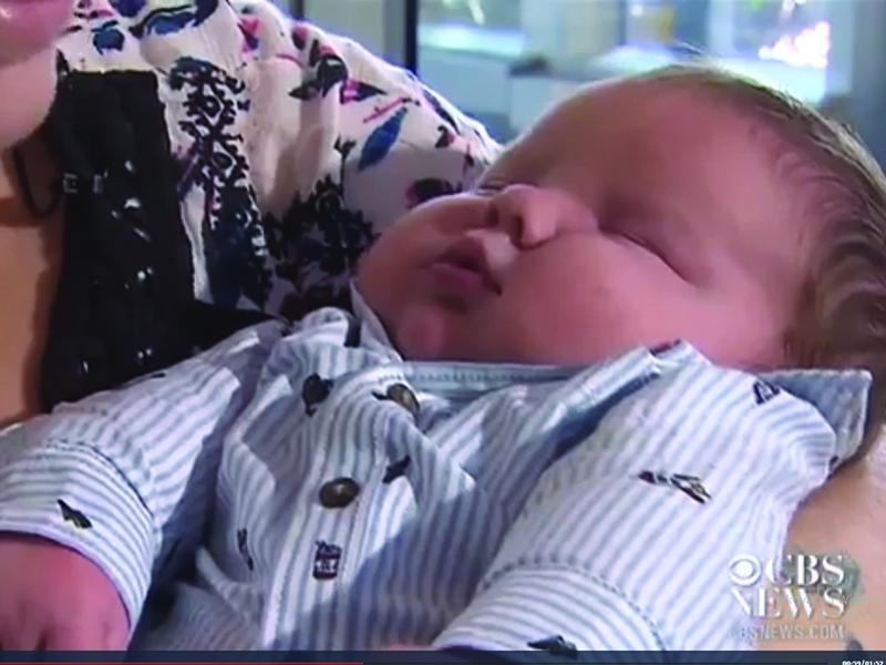 Óriásbébi született! A kisfiú közel 7 kilóval jött világra - Fotókat is mutatunk róla
