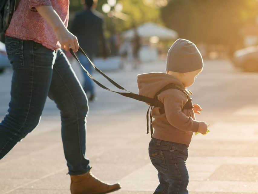 Gyerekpóráz pro és kontra: Tényleg életmentő találmány, vagy csak ártasz a gyereknek azzal, ha pórázt kötsz rá?