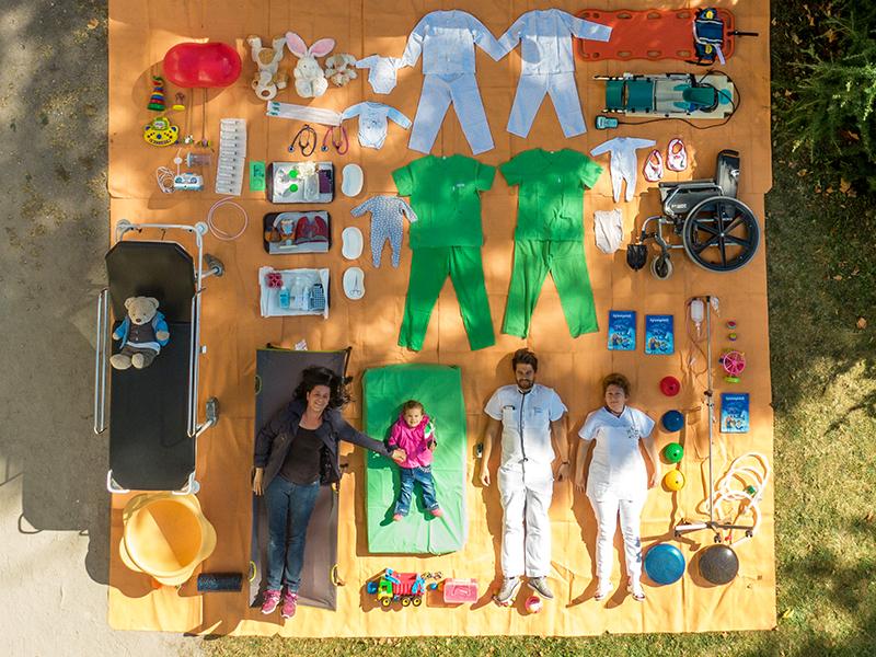 Tetrischallenge: A Bethesda gyermekkórház is csatlakozott a népszerű kihíváshoz! - Még egy kis beteg is helyet kapott a fotón