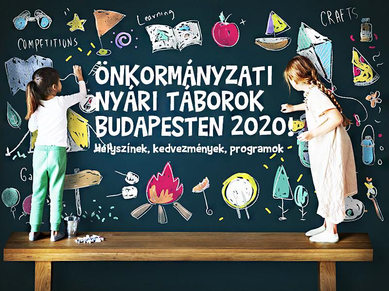 Önkormányzati nyári táborok Budapesten 2020: Ide viheted a gy