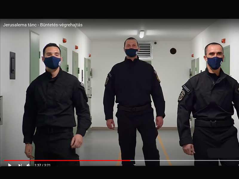 Jerusalema táncos kihívás: Tarol a Magyar Büntetés-végrehaj
