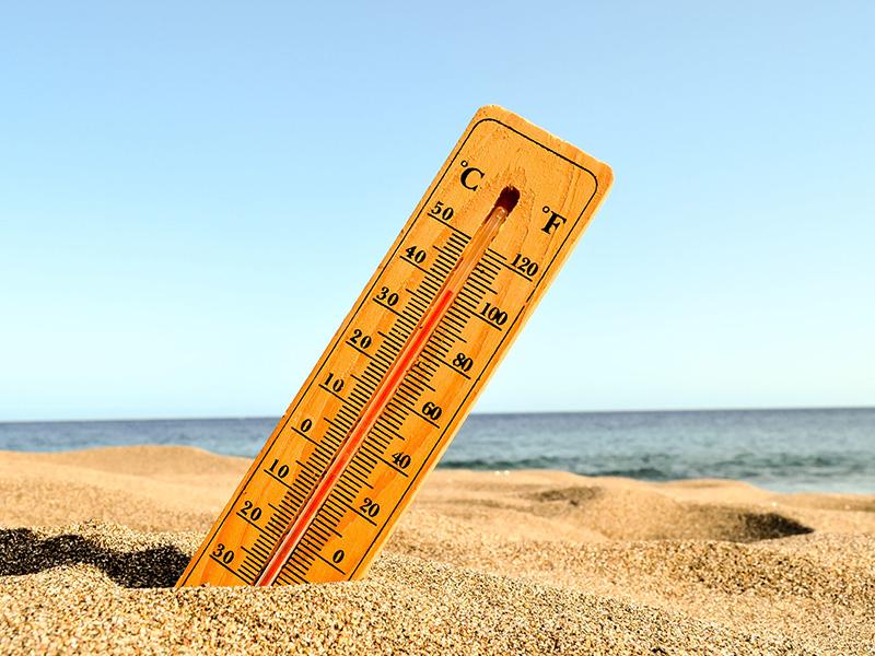 Hétvégi kánikula: Akár 35 fok is lehet! - Mire figyelj, ha ba